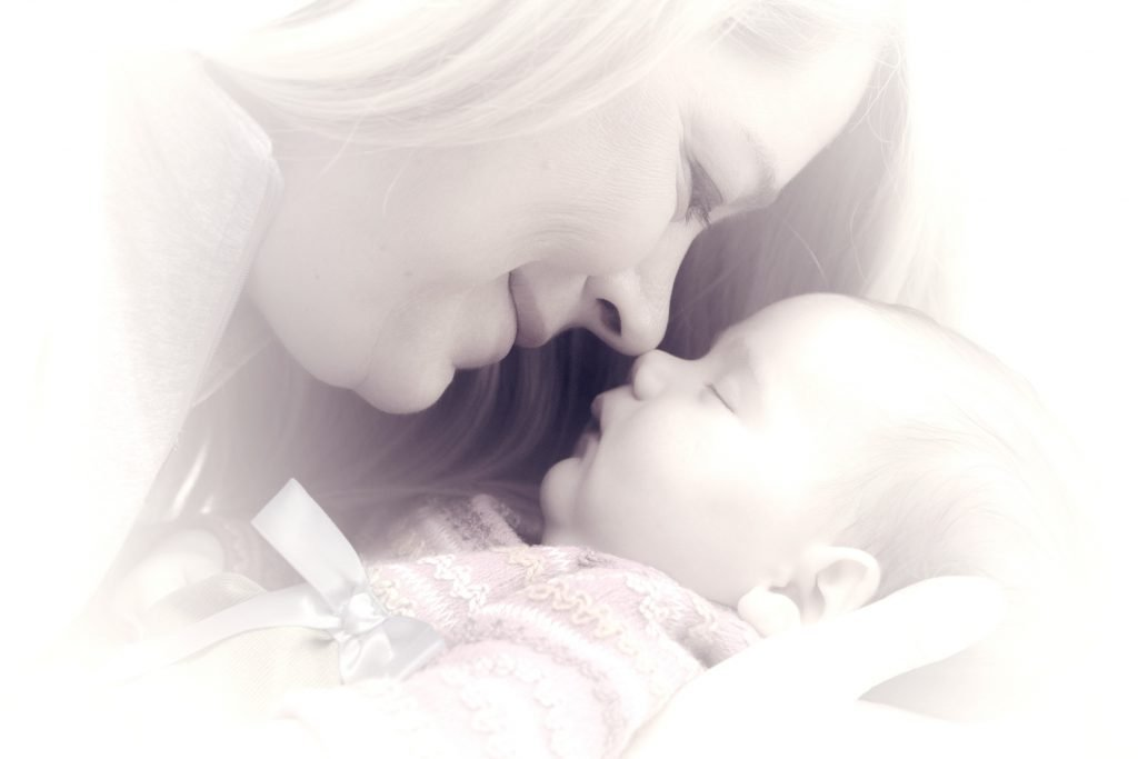 a mother and her child - anxieties of motherhood