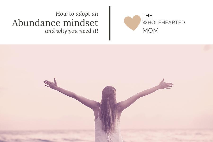 How to adopt an abundance mindset blog post