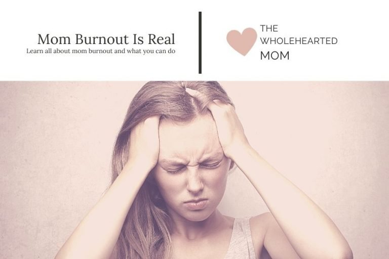 Mom burnout is real - what it is and what you can do