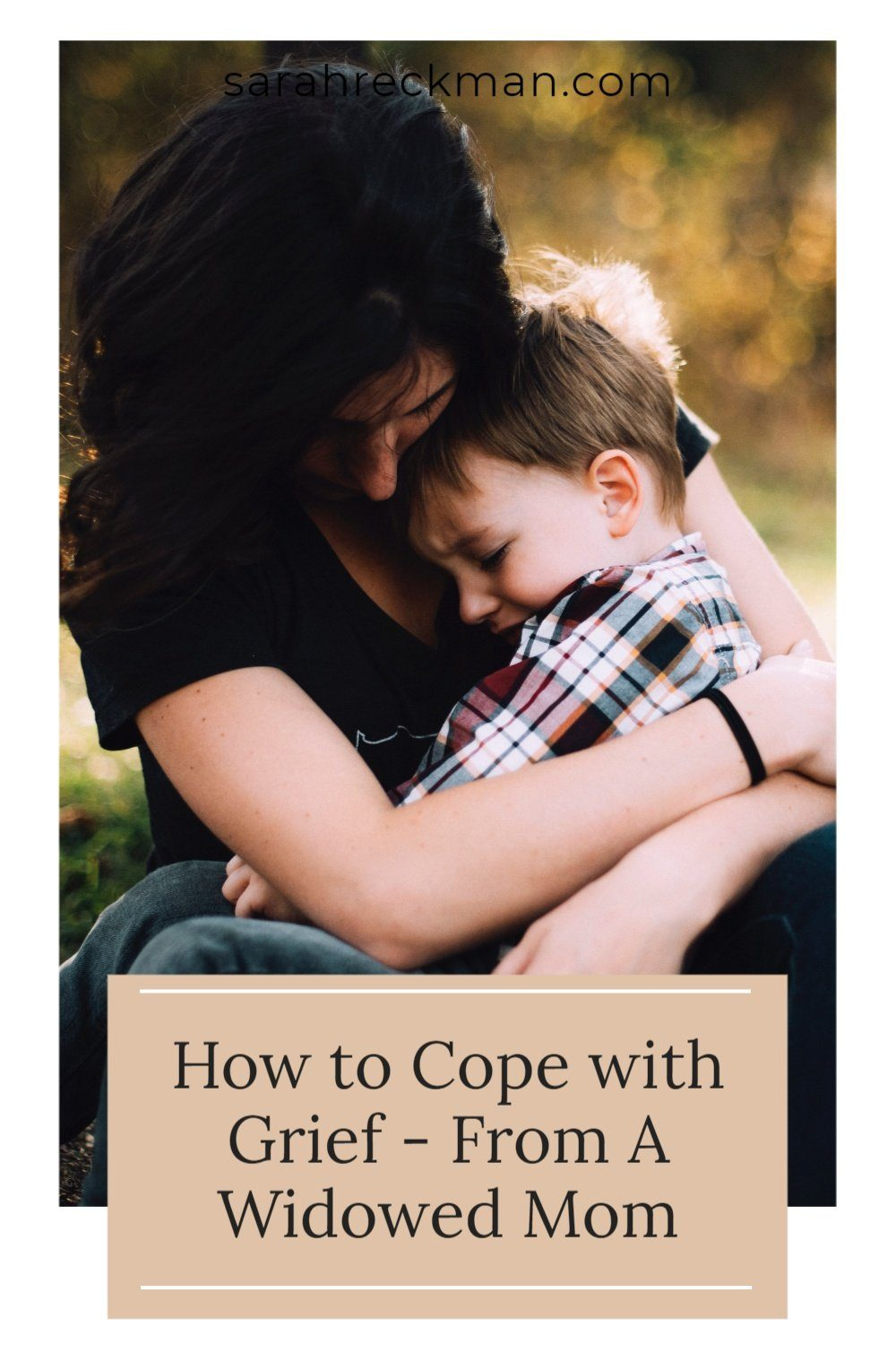 dear grieving mom - tips on how to cope with loss
