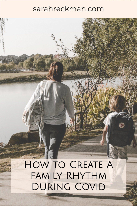 how to create a family daily rhythm