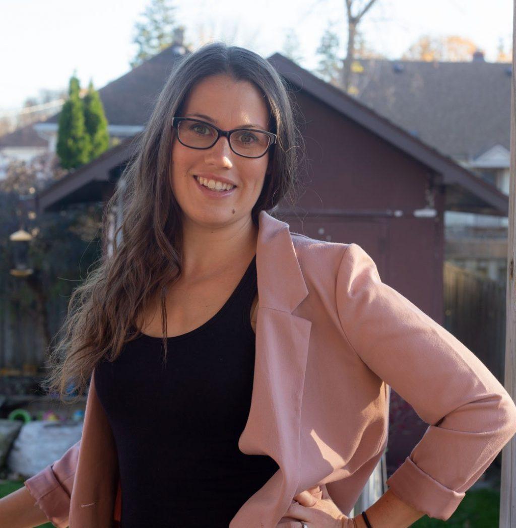 Sarah Reckman mom blogger and mental health advocate
