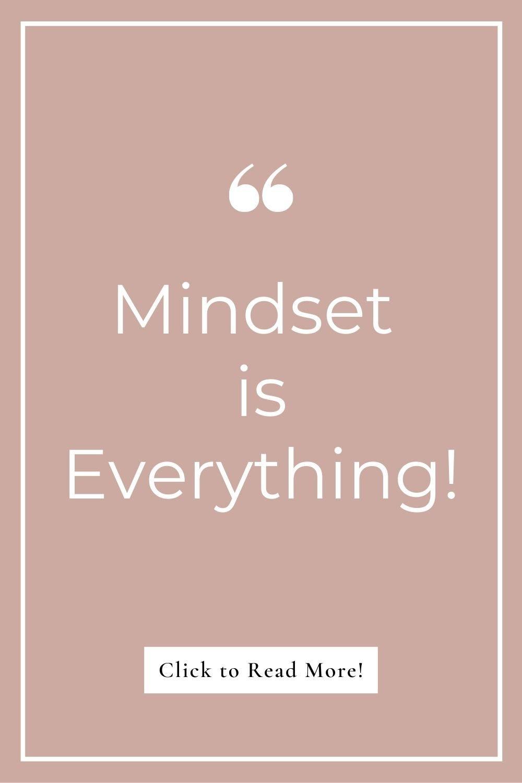 Abundance mindset is everything - quote