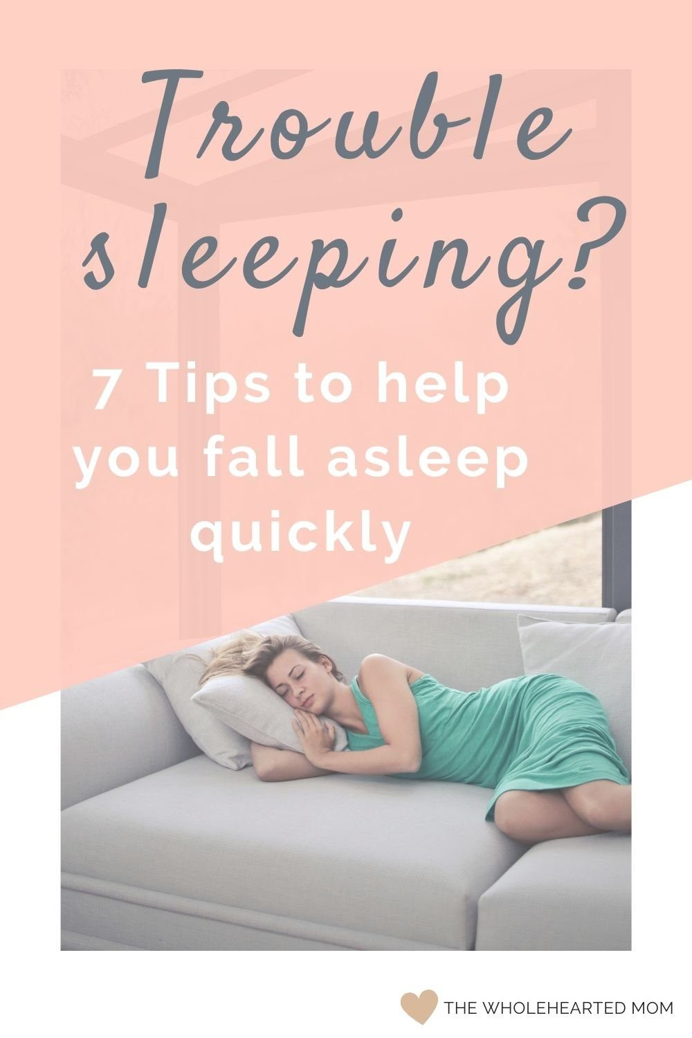 Trouble sleeping - learn how to fall asleep quickly