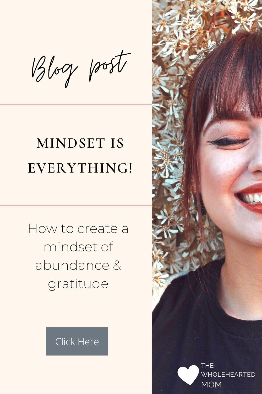 how to create a mindset of abundance and gratitude