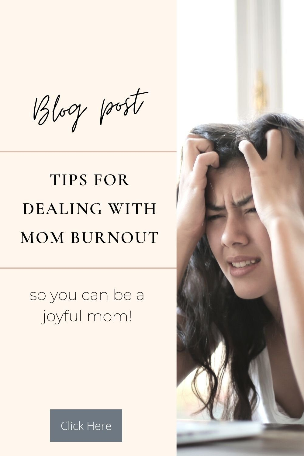 Tips for dealing with mom burnout