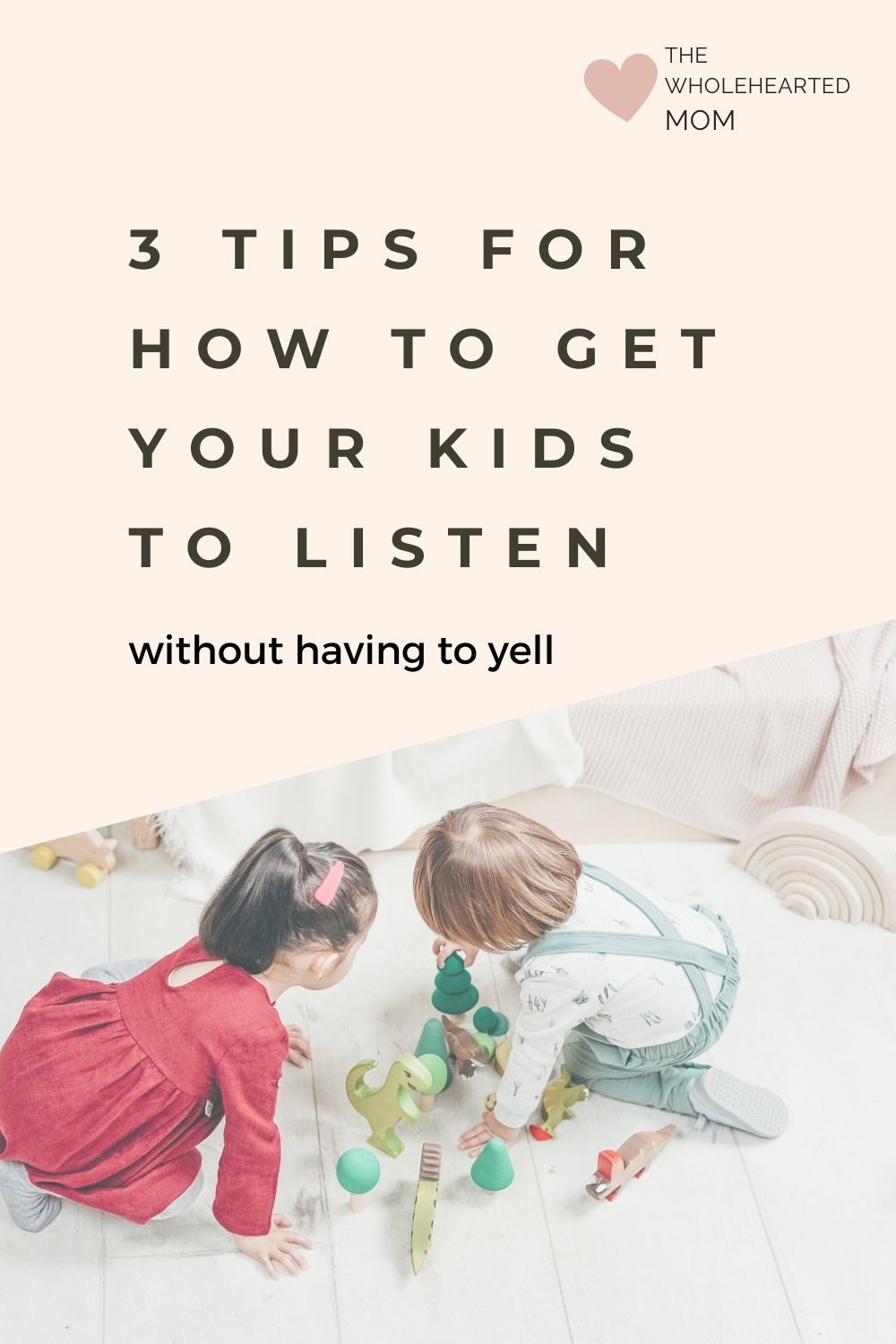 wanna know how to get your kids to listen to you?