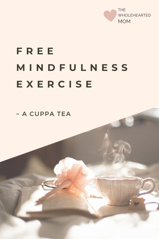 free mindful tea exercise