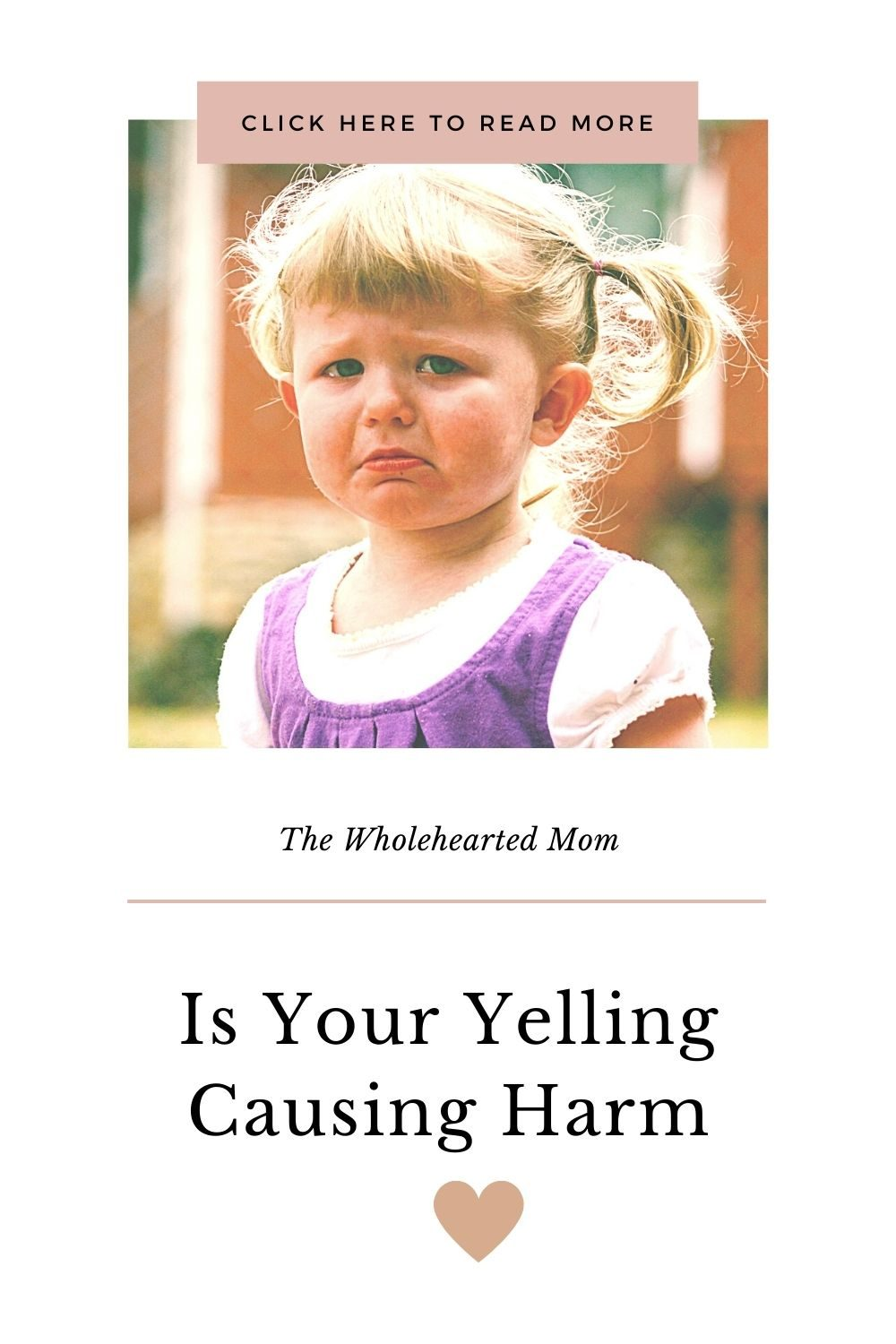 is your yelling causing harm?